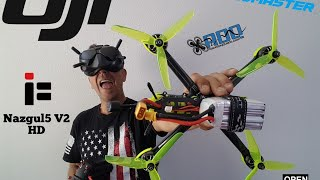Iflight Nazgul5 V2 and DJI V2 FPV Activation and my fix to bind!!! (flight chase video at end)