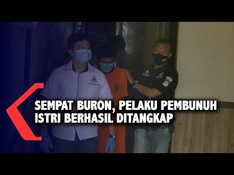 sempat buron pelaku pembunuh istri berhasil ditangkap