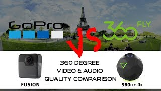 Whats the best 360 camera? 360fly 4K vs GoPro Fusion