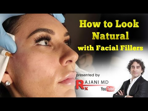 How to Look Natural with Facial Dermal Fillers/Cheek Filler