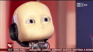 Il TG2 Intervista Il Robot ICub