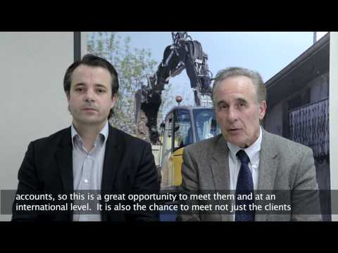 Ils préparent INTERMAT Paris 2015 - MECALAC