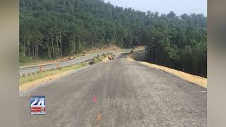 Highway 68 Traffic Diversion in Cherokee County