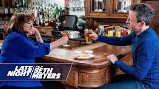 Seth And Ina Garten Go Day Drinking