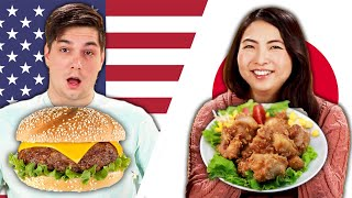 American & Japanese People Swap School Lunches thumbnail