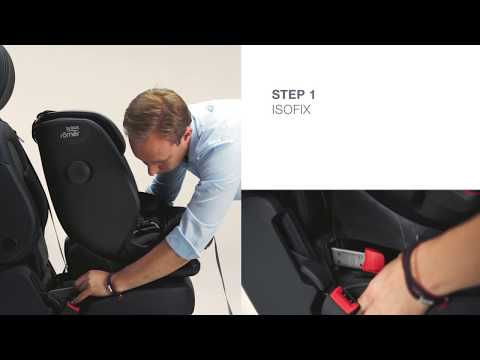 Britax Romer ADVANSAFIX IV R Installing the Seat | Group 1 (9-18kg)