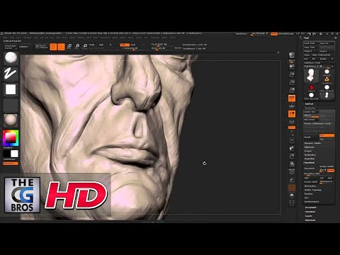 "CGI 3D Tutorial : ""Zbrush Character Sculpting:Dishonored Style Portrait"" – by Flipped Normals"