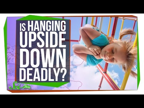 What Happens To Your Body If You Hang Upside Down For Too Long