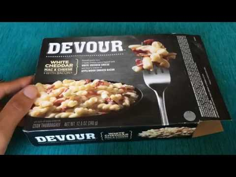 DEVOUR White Cheddar Mac & Cheese with Bacon Review