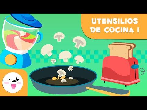 Utensilios de cocina - Episodio 1 - Vocabulario para niños