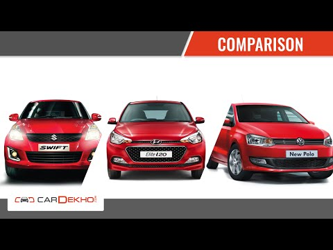 Comparison Story- Elite i20 Vs Polo Vs Swift | CarDekho.com