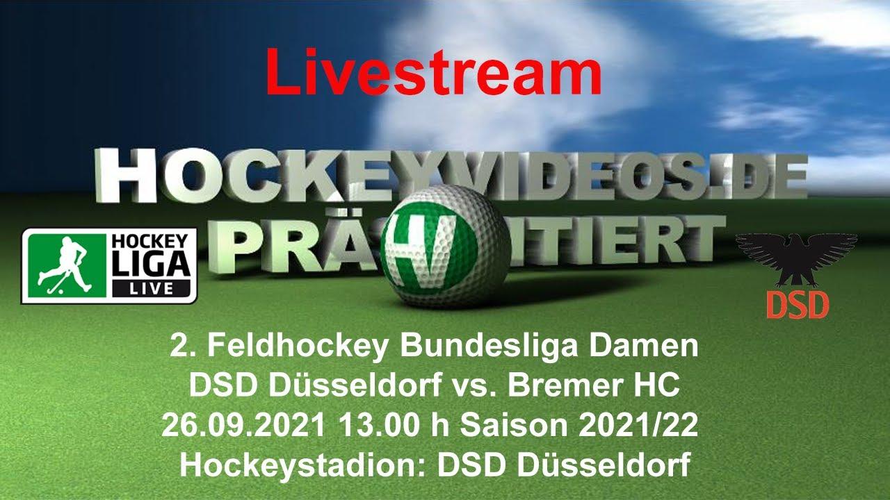 26.09.2021, 13:00 Uhr: Damen: DSD Düsseldorf vs. Bremer HC