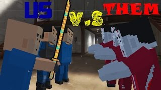 Block Strike Gameplay #18: US VS THEM