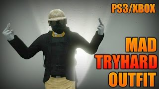GTA 5 Online BEST TRYHARD OUTFIT PS3/XBOX TUTORIAL
