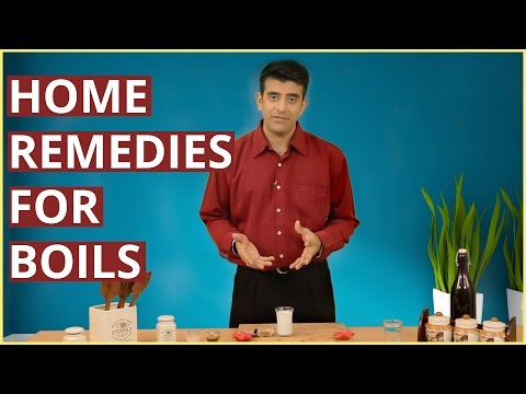 Video HOW TO GET RID OF BOILS With Home Remedies