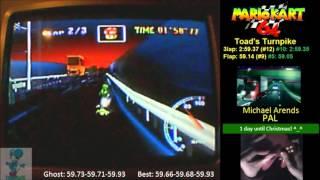 MK64 TT 3lap 2:59.30 PAL God