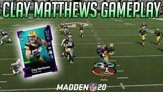 CLAY MATTHEWS GOES BEAST MODE! | Madden 20 Ultimate Team Gameplay |