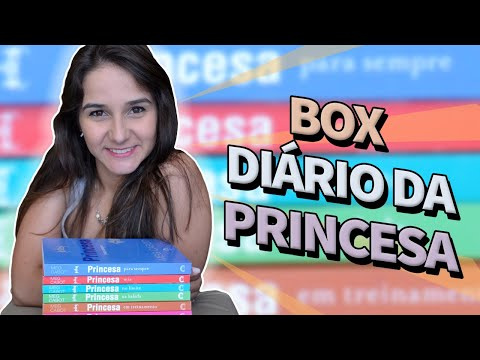 Box Literário Diário da Princesa, da Meg Cabot
