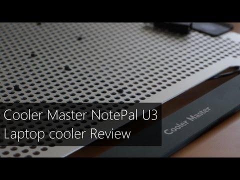 Cooler Master NotePal U3 laptop cooler Review