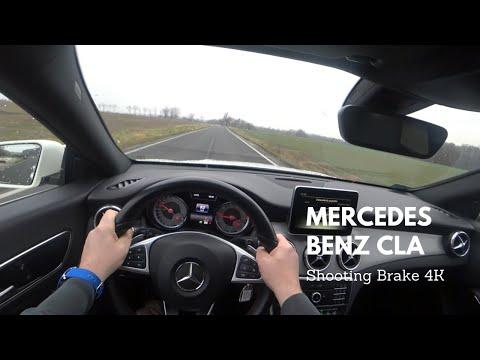 Mercedesbenz Cla Class Shooting Brake Универсал класса C - тест-драйв 2