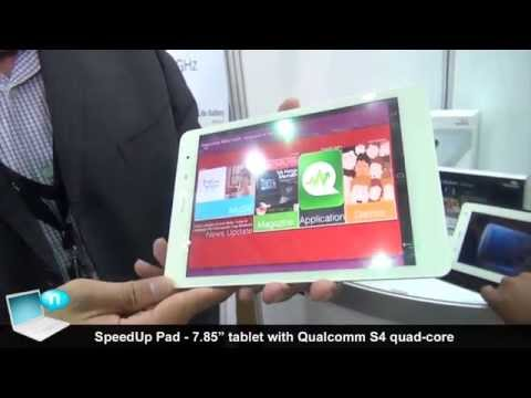 SpeedUp Pad iPad Mini-like with 3G and quad-core Qualcomm Snapdragon S4