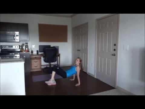Tricep Dip to Alternating Leg Raise Leg Raise