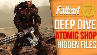 A Deeper Dive into Fallout 76's Atomic Shop - Hidden Files (Fallout 76 Microtransactions)