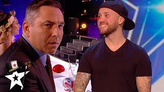 Magician Takes David's Bank Card and Number For His Amazing Magic Trick | Magicians Got Talent