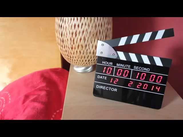 Regieklappe - Wecker