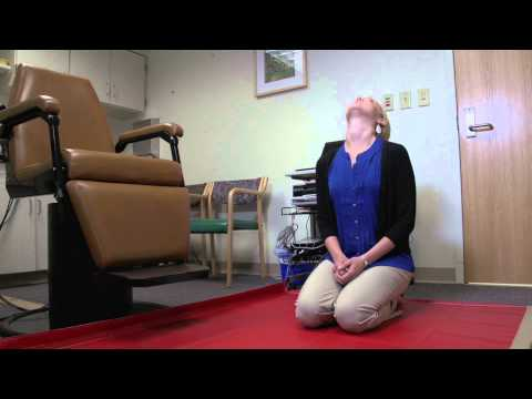 Video Carol Foster, MD Vertigo Treatment Oct 11
