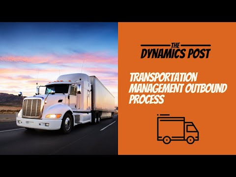Transportation Management in Dynamics 365 Finance and Operations