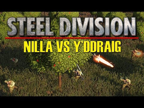 NILLA VS Y'DDRAIG Game 1! Throwback Tournament FINAL, Steel Division: Normandy 44 (Omaha, 1v1)