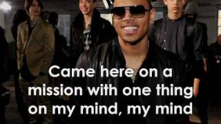 Chris Brown - Back Out ( W/ Lyrics + Pictures)