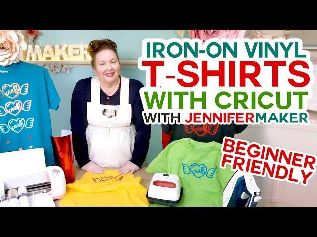 Cricut Iron-On T-Shirt Tutorial - Beginner Friendly!