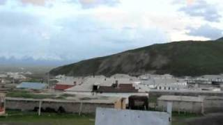 preview picture of video 'Kyrgyzstan 09 Sary Tash Pamir atardecer'