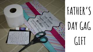 DIY Fathers Day Gag Gift