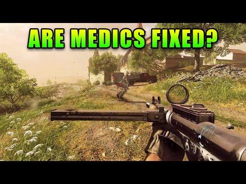 Are Medics FIXED? - Starter Kit Sten Gameplay | Battlefield V