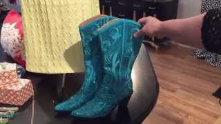 Accessorizing With Cowgirl Western Bling Boots From Helens Heart