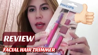 UNBOXING/REVIEW: PHILIPS HP6390 FACIAL HAIR REMOVAL
