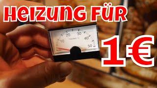 EINFACH GENIAL! Heizung für 1 € - DIY Heizung für deinen Van/Wohnmobil/Auto - LIFE HACK HEIZUNG