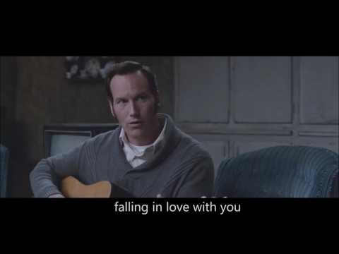 The conjuring 2   can t help falling in love with you