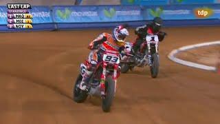 Superprestigio Dirt Track 2 Super Final Marc Marquez Vs Jared Mees