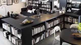 BILLY Bookcase Storage Ideas - IKEA Home Tour