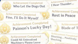 40 Inazuma Hidden Achievement Genshin Impact 2.0 Part 1