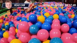 Fun for Kids at Brand New Busfabriken Megacenter Indoor Playground