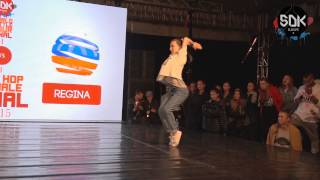 KAZANE (Japan) vs. REGINA (Russia) - Hip Hop Female Final SDK World Battle Tour 2015