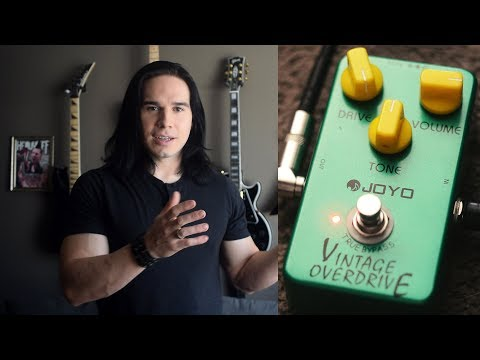 Joyo – The Cheapest, Best Overdrive Pedal – Demo / Review