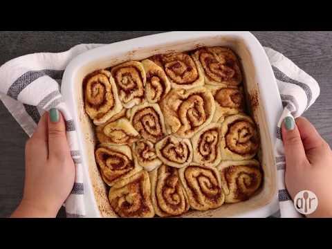 How to Make Quick Cinnamon Rolls | Dessert Recipes | Allrecipes.com