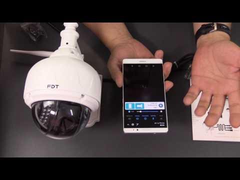 FDT - Überwachungskamera außen - PTZ 960 - outdoor IP-Cam FD7903
