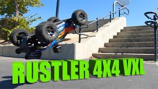 Traxxas Rustler 4X4 VXL FPV GoPro-Jumps-Bashing